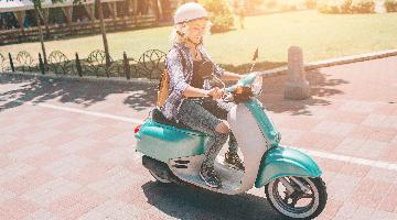 thumbnail of Cute and Fun: Mopeds Are a Great Economical Form of Transport